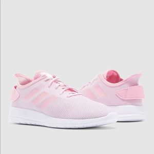 Pink & White Adidas Shoes